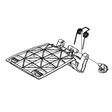 501065801-Kit ressort de trappe pour robot automower Husqvarna
