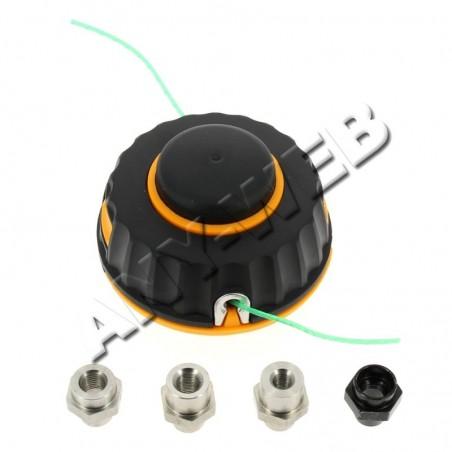 HDO001-577615901-Tête de coupe 2 fils nylon P25 diamètre de fil 2mm McCULLOCH