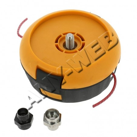 HDO002-577615902-Tête de coupe complète à 2 fils nylon 3mm P35 pour débroussailleuse McCULLOCH