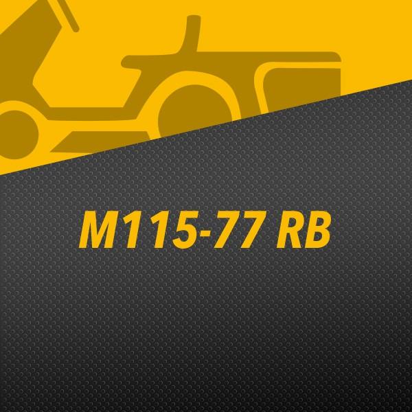 Tracteur M115-77 RB