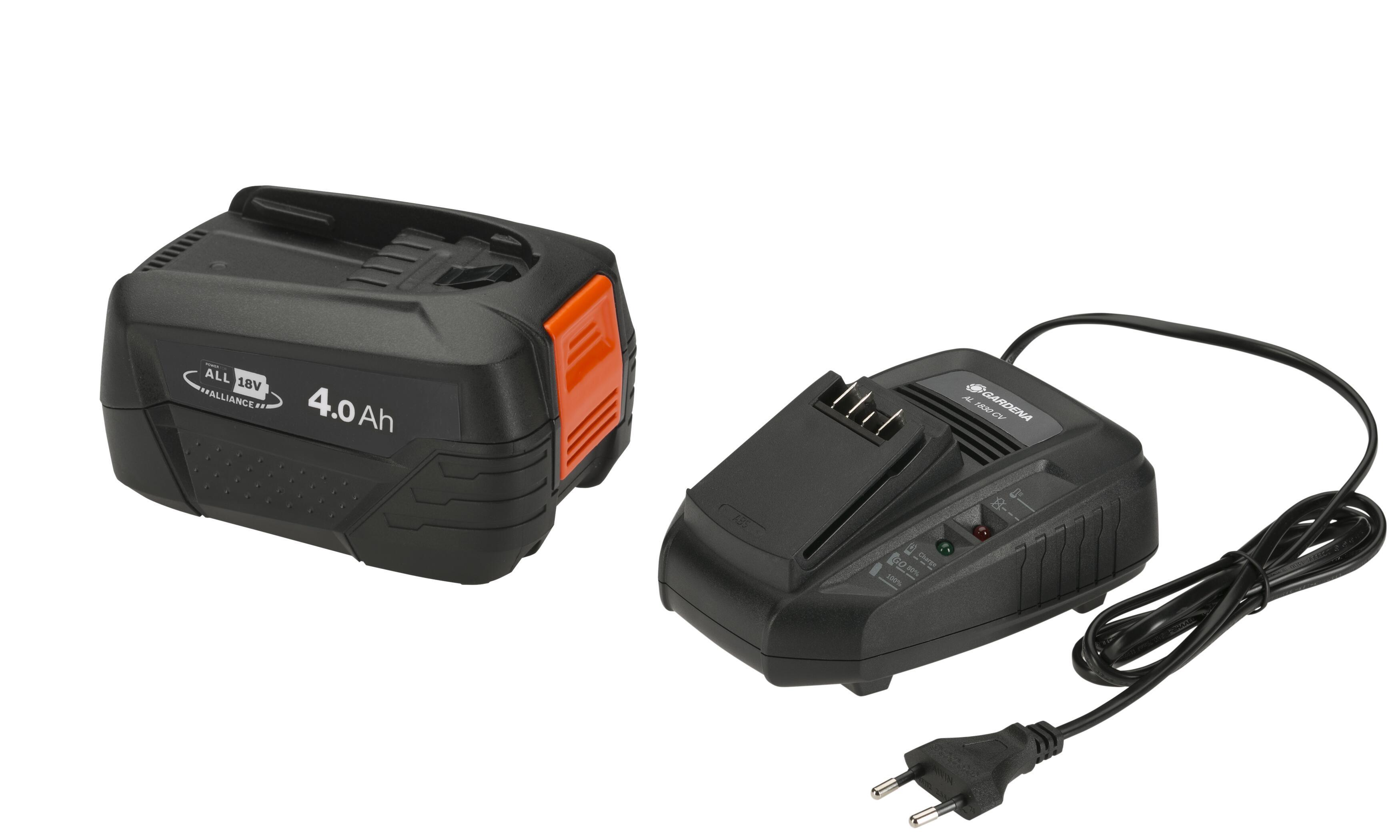 Batterie et transformateur de charge Gardena