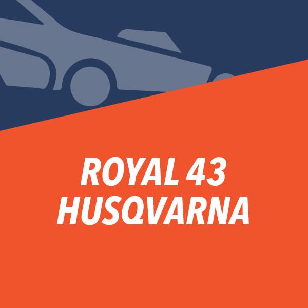 ROYAL 43 Husqvarna