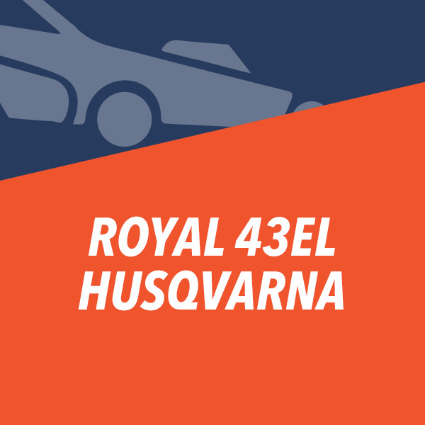 ROYAL 43EL Husqvarna